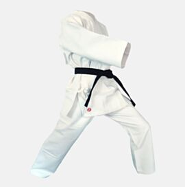 Canvas GI Karate Uniform White Cotton 16oz