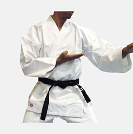 Canvas Karate Gi 13oz White  - NOT PRE SHRUNK
