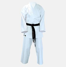 Canvas Karate Gi Uniform White 14oz