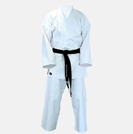Canvas Karate Gi White 11OZ  - NOT PRE SHRUNK
