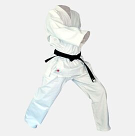 Canvas Karate Gi Uniform 12oz White Hard Wearing
