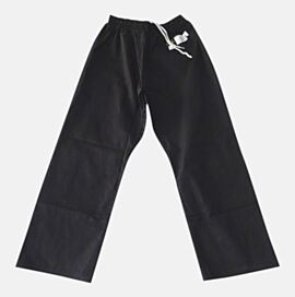 GI Cotton Pant 8oz Black for training or excersise