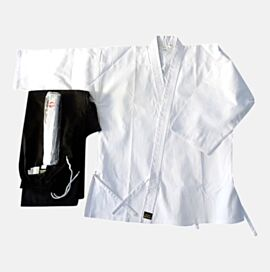 Karate Gi - Salt Pepper - 100% cotton