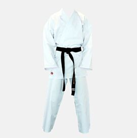 Karate GI White 8oz Poly Cotton Hard Wearing