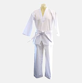 Taekwondo Uniform - 8oz poly/cotton heavy-duty double stitching