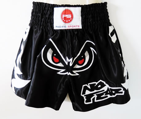Kickboxing Shorts – Size Chart Same for All Designs