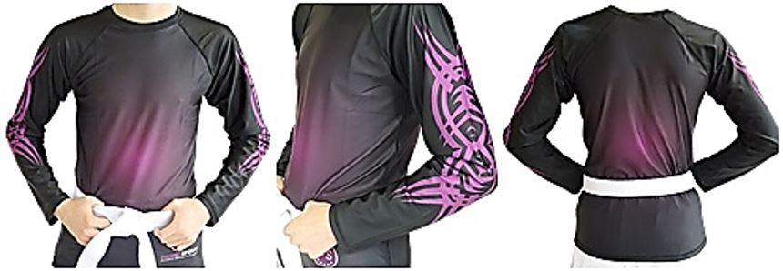 Rash Guard Size Chart – Plum Colour - Long Sleeves